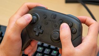 Nintendo Switch update pro controller