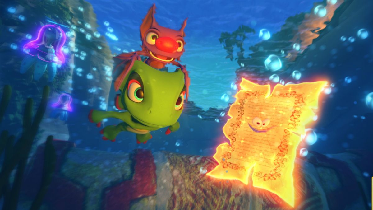 Yooka Laylee Why Are Critics So Wildly Divided By 2017s Most Love Ps4 Hate Game Gamesradar