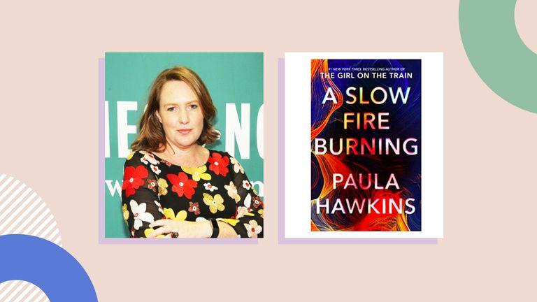 Paula Hawkins A Slow Fire Burning