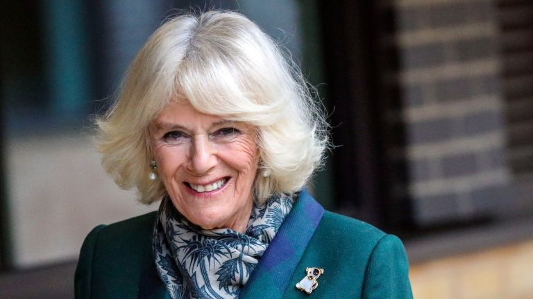 Duchess Camilla of Cornwall visits the Battersea Dogs and Cats Home