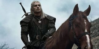 Geralt of Rivia in The Witcher Season 1