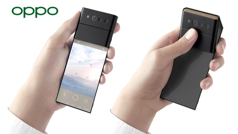 Oppo X Nendo folding phone