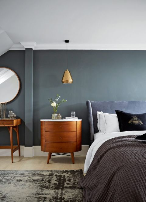 17 Grey Bedroom Ideas From Deep Dramatic Charcoals To Calming Light Shades Livingetc