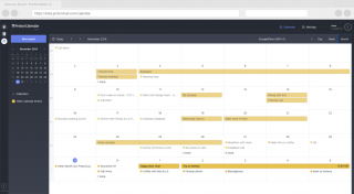 ProtonMail's new ProtonCalendar service