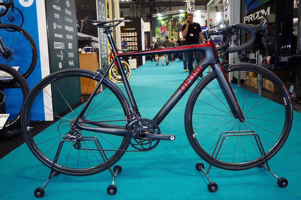 c36f54ab779 Tifosi unveil 'lightest production bike' in the world, weighing just 4.6kg  for a complete build