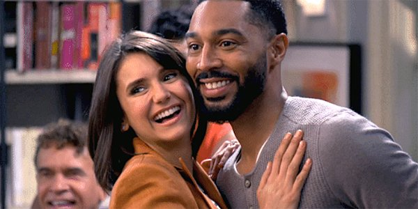 Nina Dobrev and Tone Bell in Fam on CBS