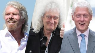 Richard Branson, Brian May and Bill Clinton are a few of the celebrities who are reportedly attending the total solar eclipse in Chile on July 2, 2019.