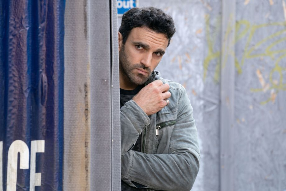 Kush Kazemi hands himself in, in EastEnders