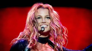 Britney Spears performing on stage, the singer's fight for independence will be documented in Britney vs. Spears