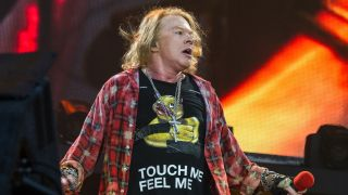 Guns N' Roses frontman Axl Rose