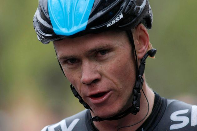 Photo: Tour de France winner, Chris Froome, talked to the Cycling Independent Reform Commission to tell them his view of the state of cycling.