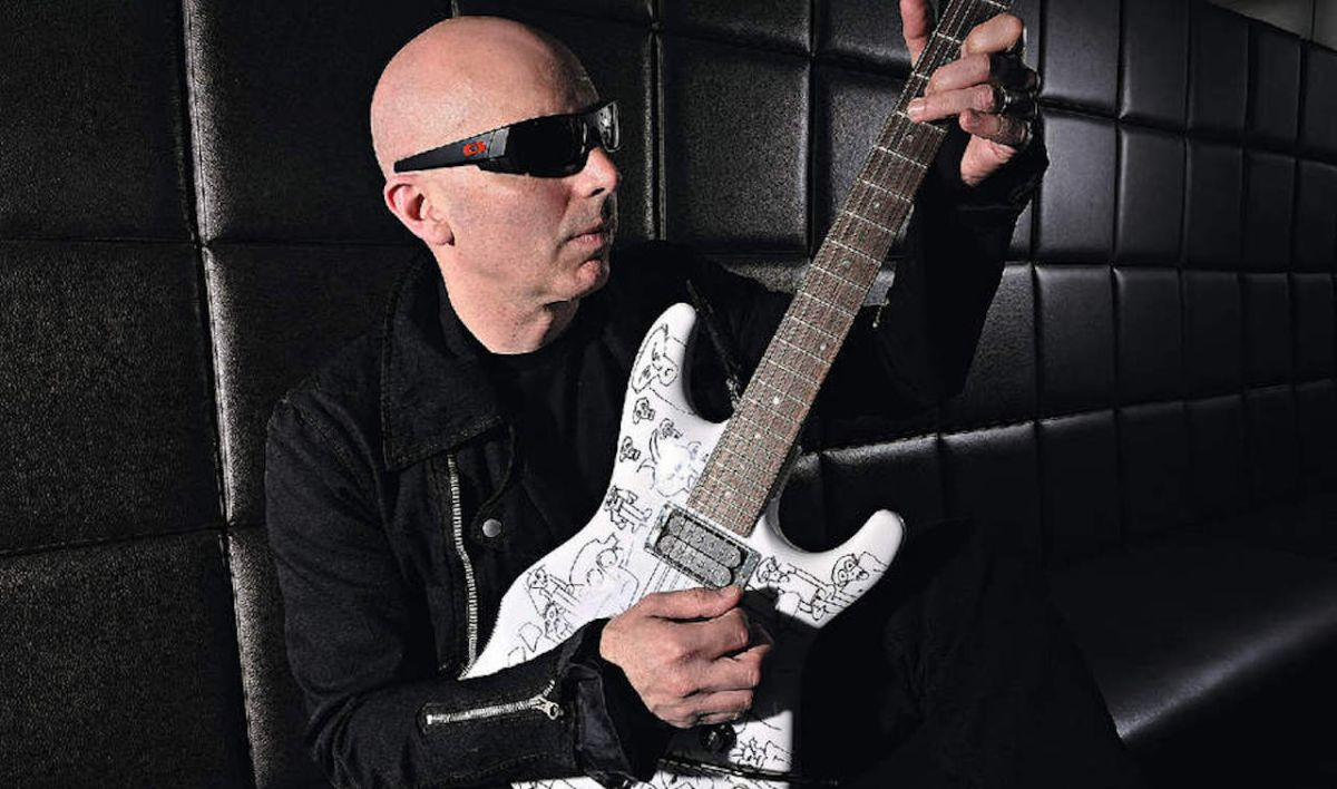 Joe Satriani has been fighting against the idea that he's a shredder for his entire career
