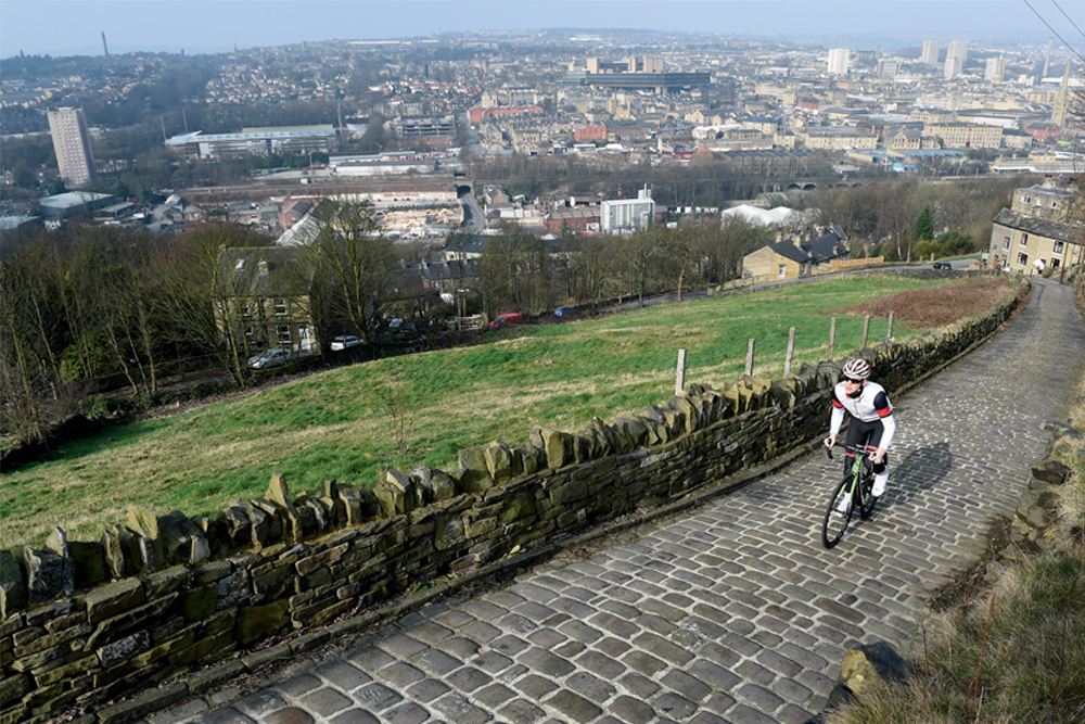 Trooper Lane is Halifax's hidden 30 per cent cobbled beast