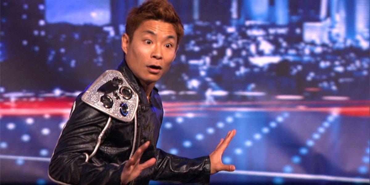 Kenichi Ebina on America's Got Talent.