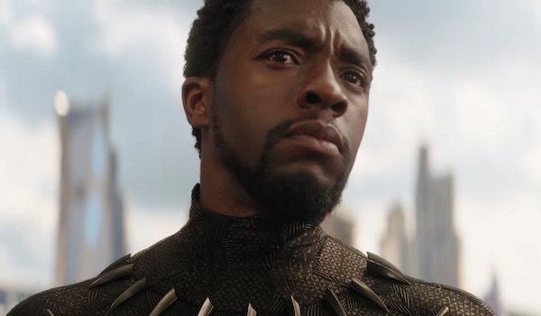 Black Panther in Avengers: Infinity War