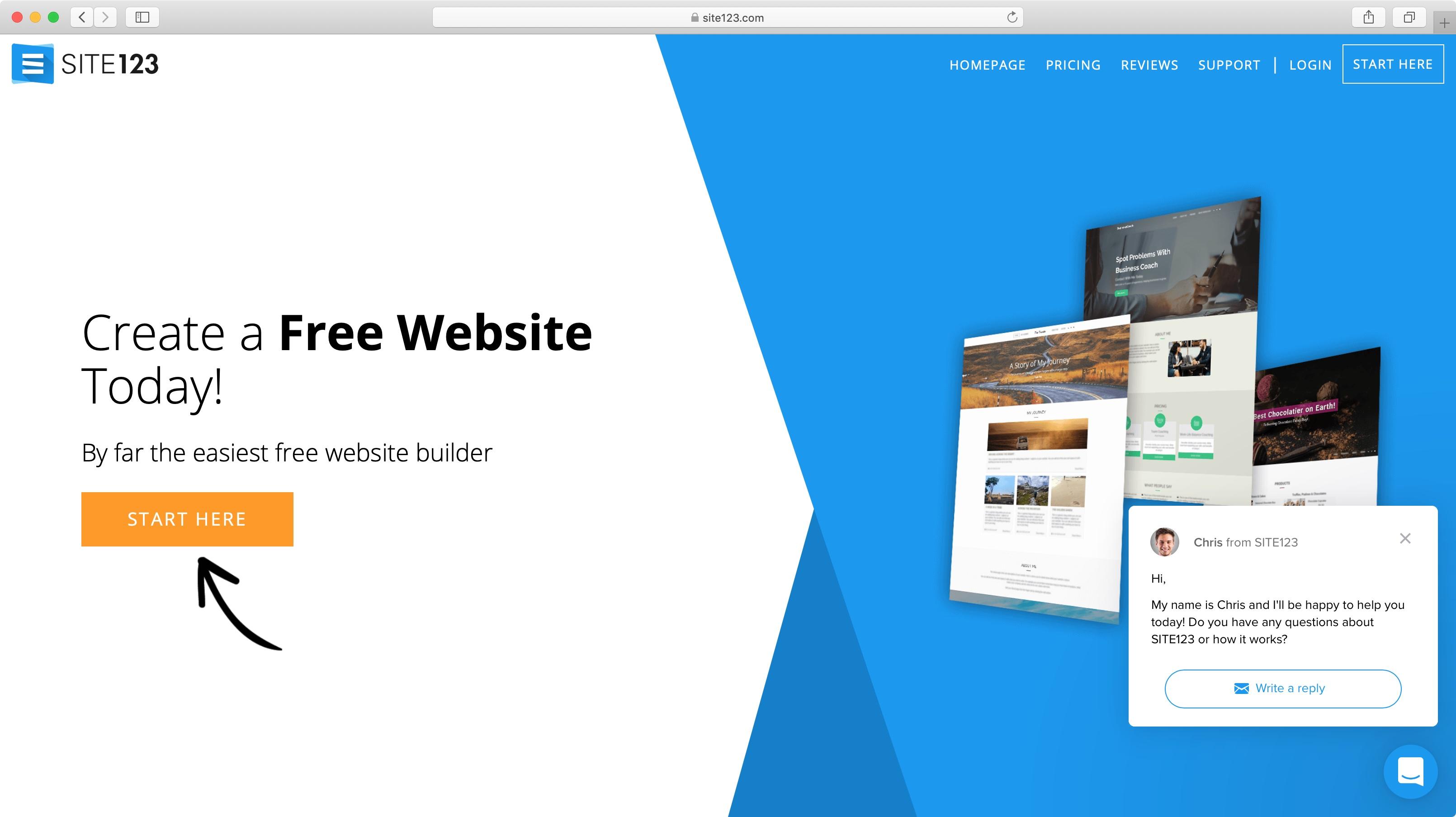 Site123 Review Techradar