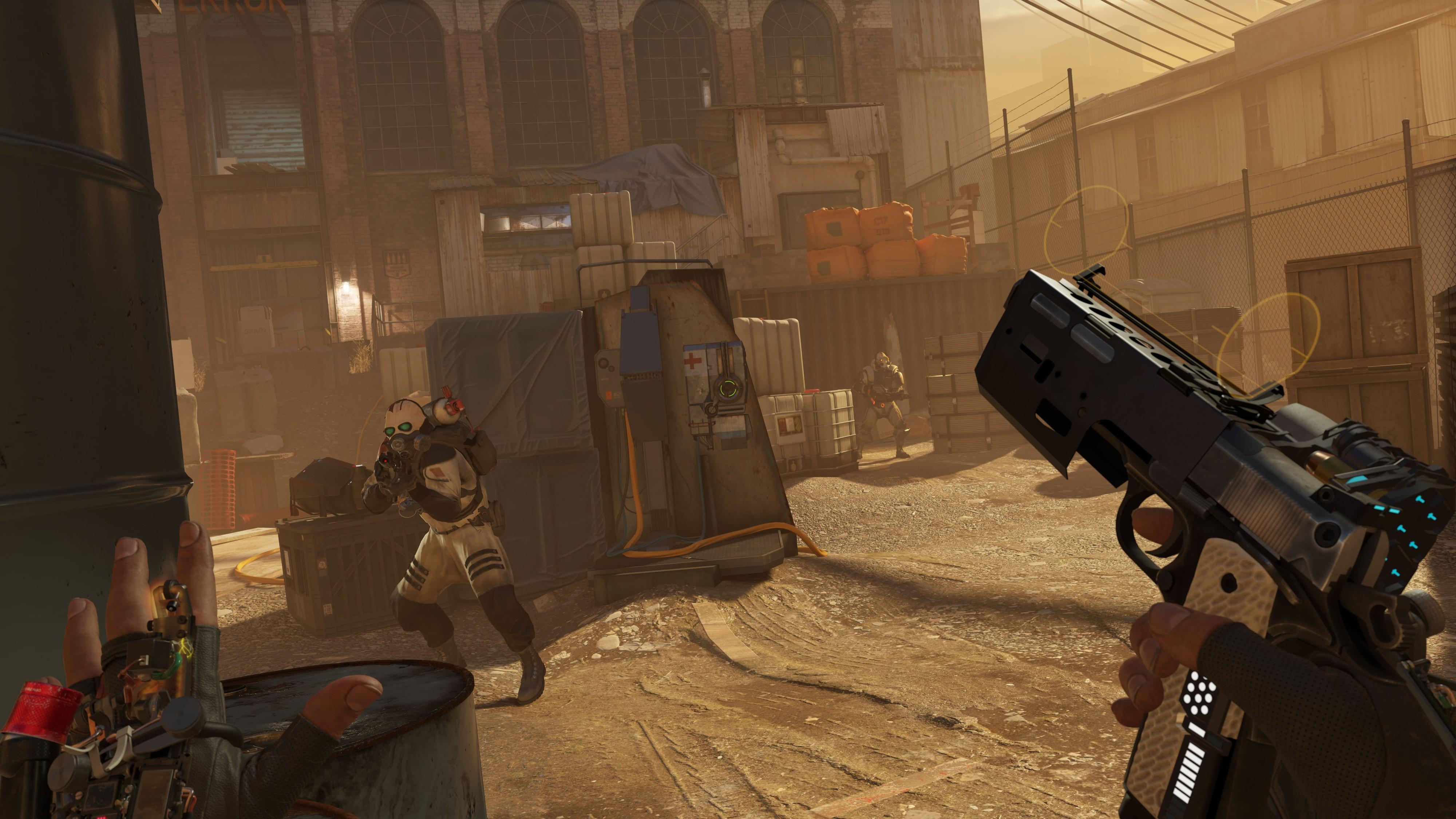 A press shot of VR game Half-Life: Alyx