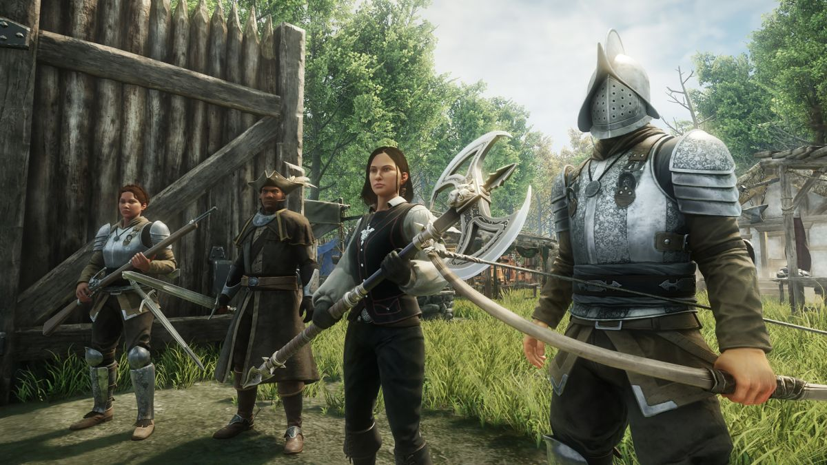New World queues reach as high as 20,000 for popular servers - PC Gamer
