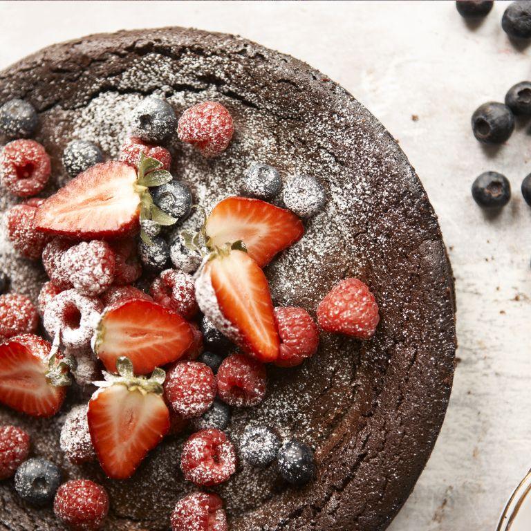 photo Green & Blacks Chocolate Pudding Pie