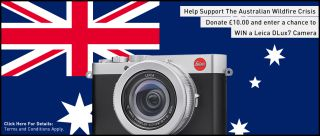 Support the Australian wildfire crisis for a chance to win a Leica
