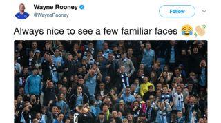 Wayne Rooney Man City fans