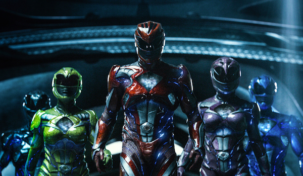 The morphed Power Rangers
