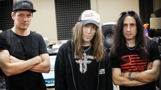 Children Of Bodom in the studio
