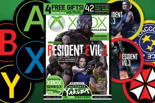 An image of OXM magazine with Resident Evil 3 on the cover