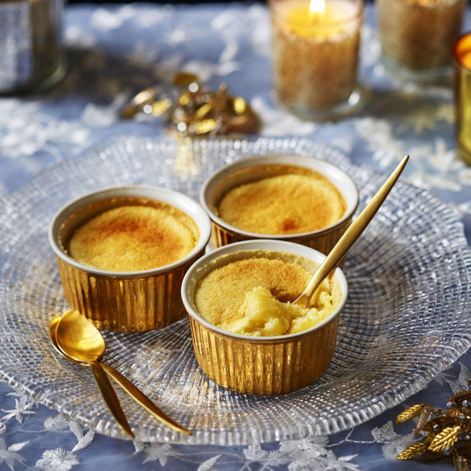 Lemon Pudding Pots