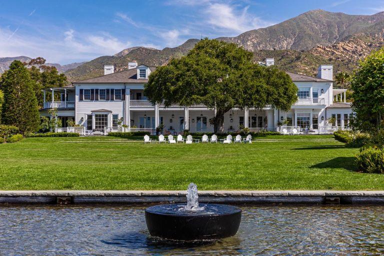 Rob Lowe's mansion