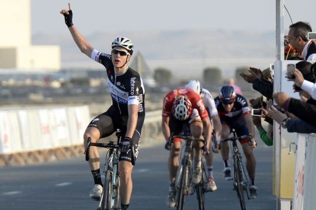 Niki Terpstra wins stage one of the 2014 Tour of Qatar