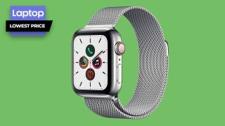 Apple Watch Series 5 with 40mm stainless steel case price cut