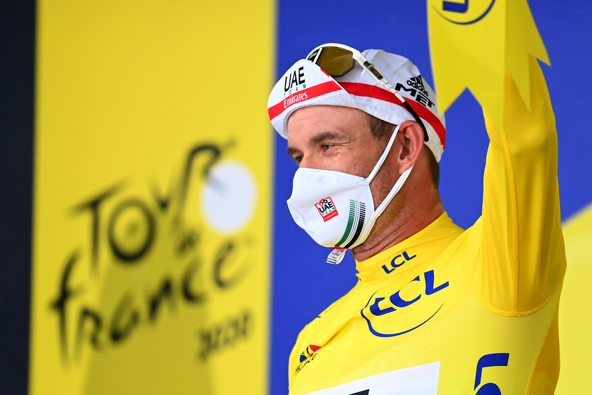 Tour de France 2020 107th Edition 1st stage Nice Nice 156 km 29082020 Alexander Kristoff NOR UAE Team Emirates photo POOL Vincent KalutPNBettiniPhoto2020