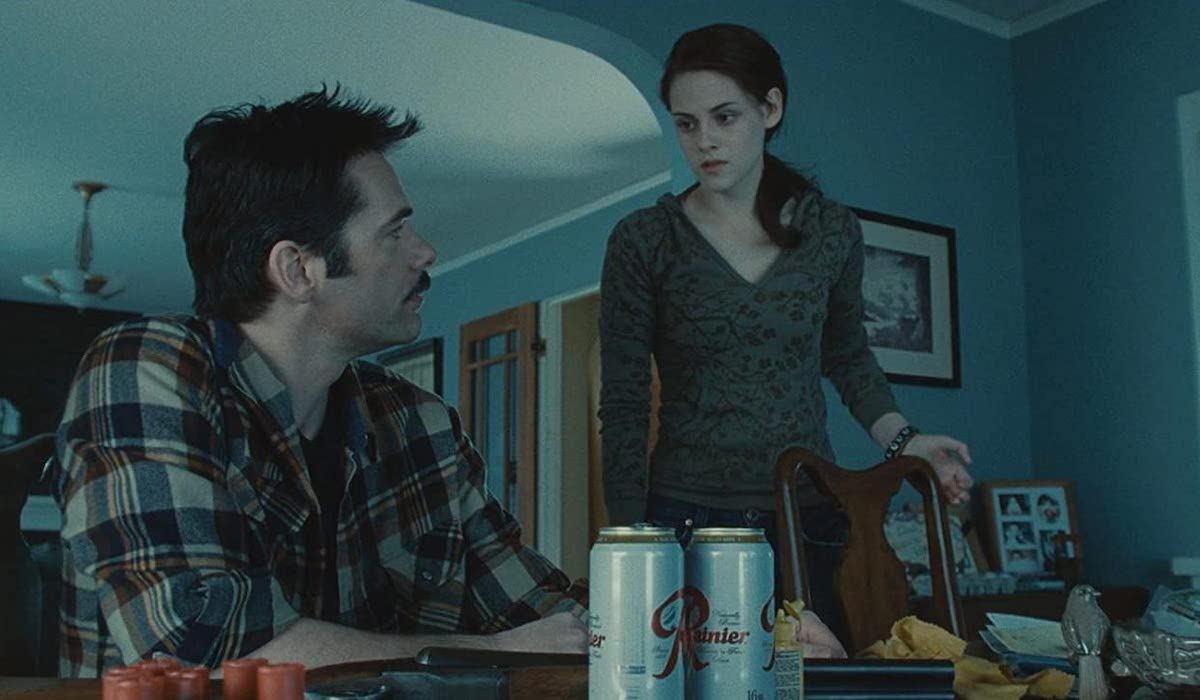 Charlie and Bella in Twilight