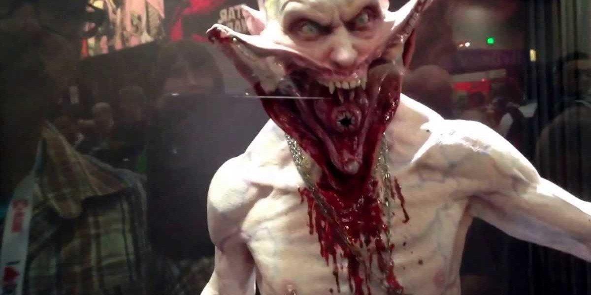 A creepy vampire