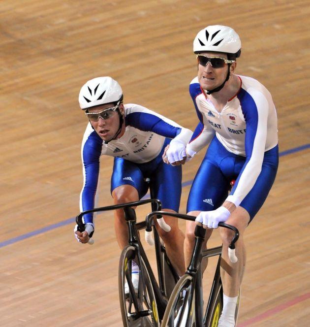 Mark Cavendish Bradley Wiggins Madison Olympics 2008