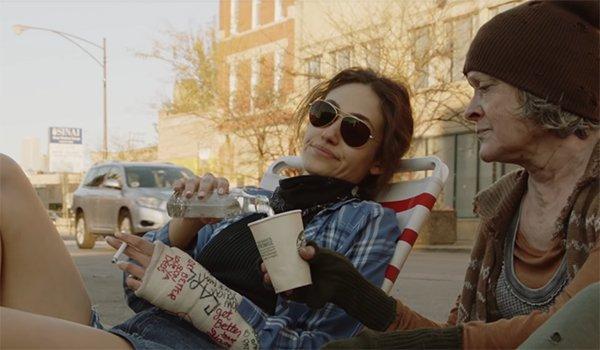 Emmy Rossum as Fiona Gallagher in Shameless