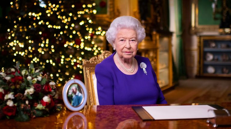 Queen shares a moving New Year's message