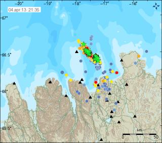 Iceland earthquake swarm