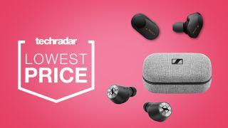 cheap true wireless earbuds deals sales Sennheiser Momentum Sony WF-1000XM3 price