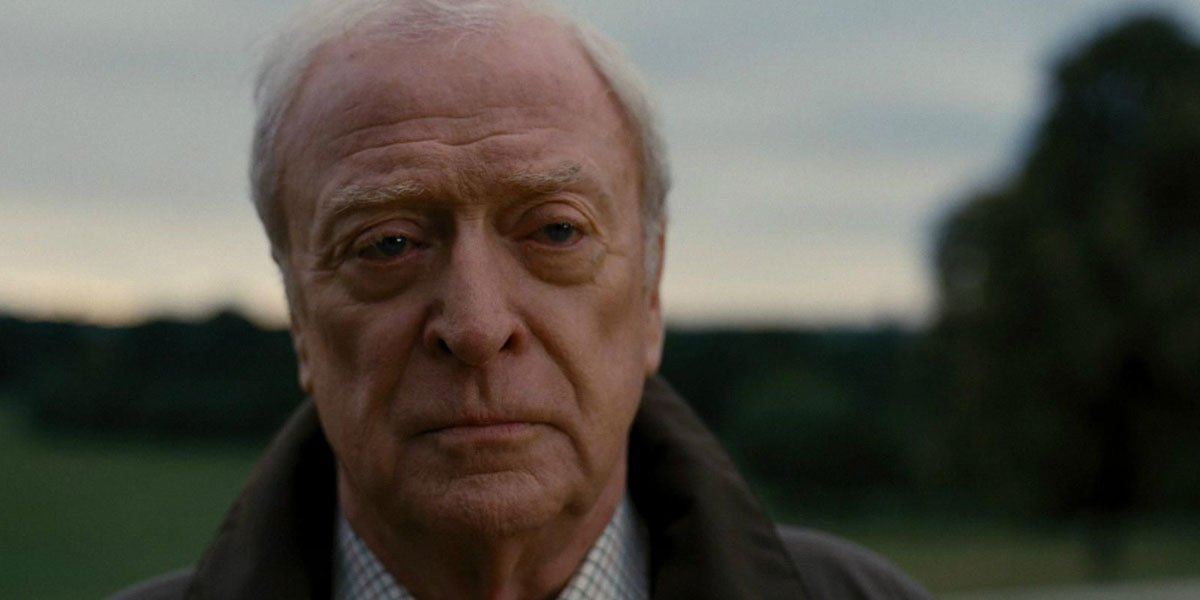 Michael Caine in the Dark Knight Rises 2012