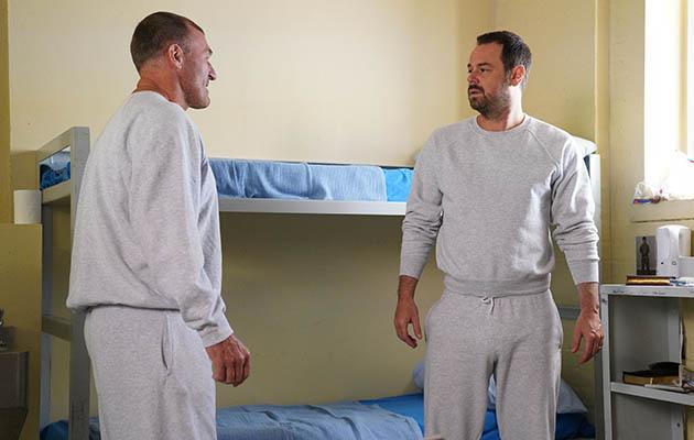 Mick Carter in prison