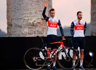 Vincenzo Nibali (Trek-Segafredo) at the Giro d'Italia teams presentation
