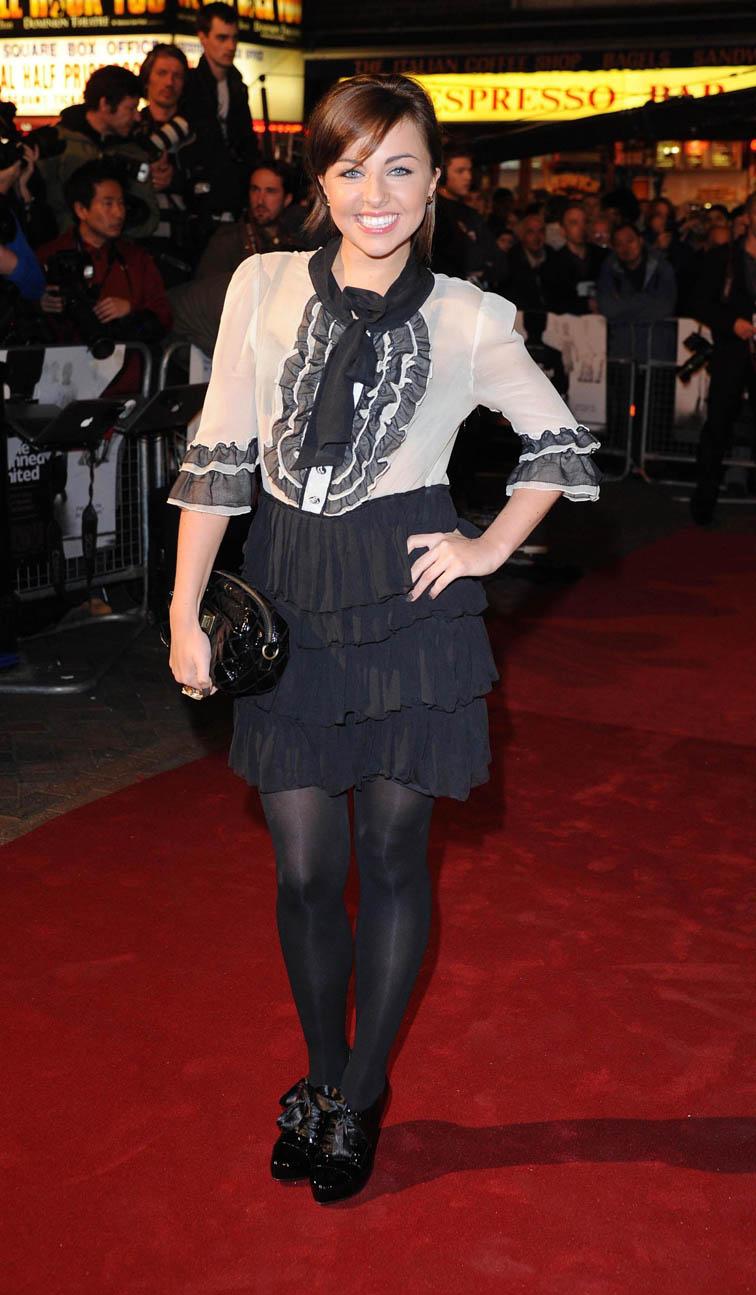 Louisa Lytton turns grumpy goth in Casualty