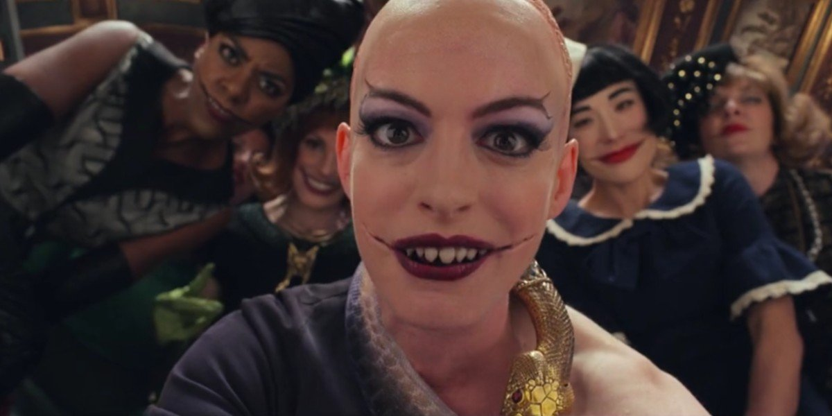 Anne Hathaway in The Witches