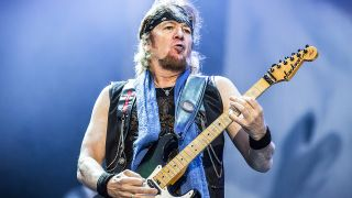 Iron Maiden's Adrian Smith