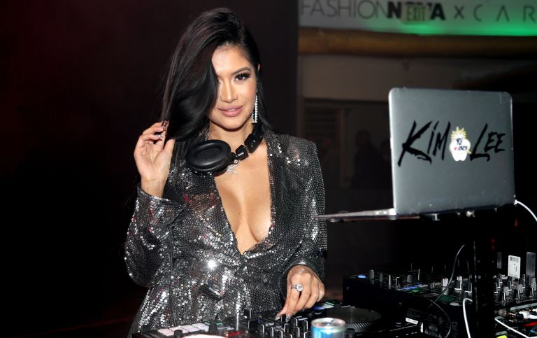 Kim Lee's biological father: DJ Kim Lee is seen as Fashion Nova Presents: Party With Cardi at Hollywood Palladium on May 8, 2019 in Los Angeles, California