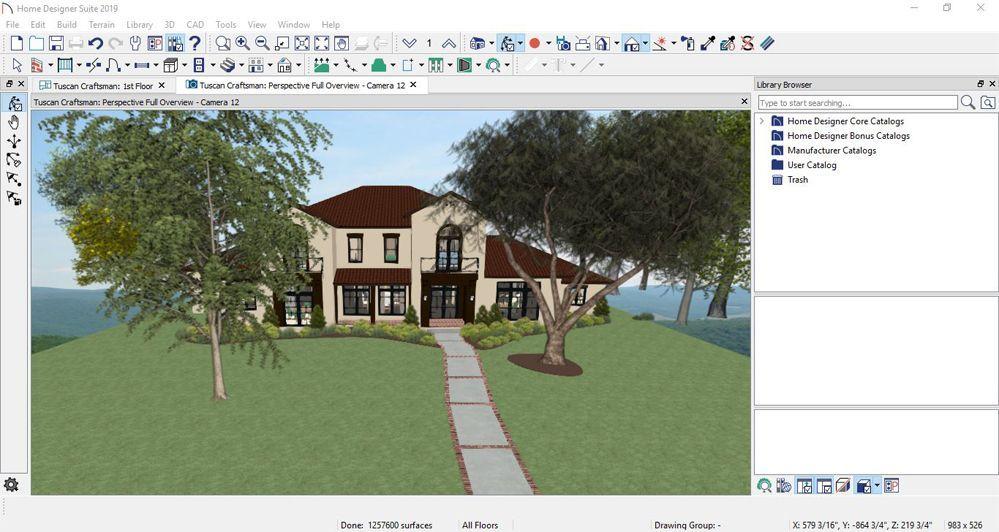 Chief Architect Home Designer Pro 2019
