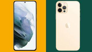 Samsung Galaxy S21 Plus vs iPhone 12 Pro