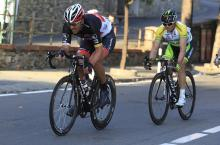 Fabian Cancellara leads Simon Gerrans